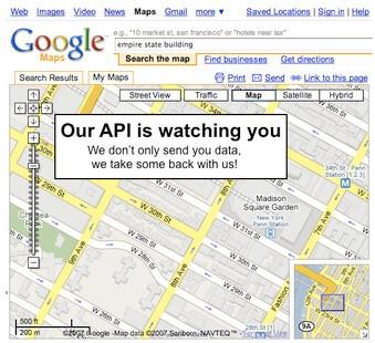 Google maps api key nedir