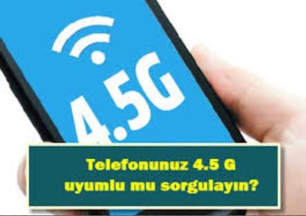 Telefonum 4.5 uyumlumu sorgulayın | Turkcell içindir