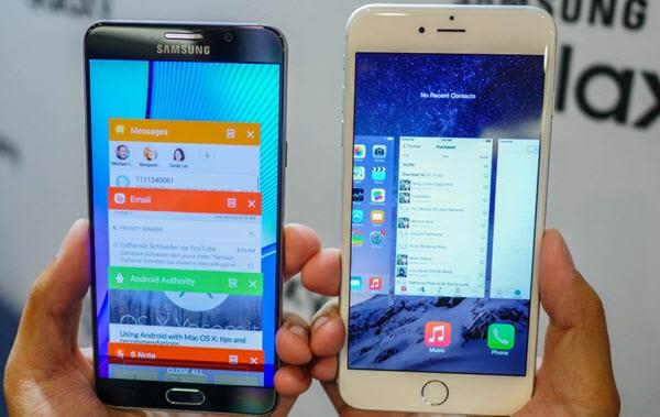 LG V10 vs Samsung Galaxy Note5 vs Apple iPhone 6s Plus kıyaslama