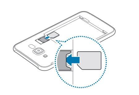 Samsung Galaxy j7 sim kart takma
