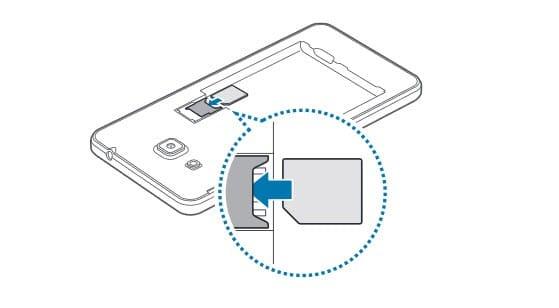 Samsung Galaxy Grand Prime-tek-sim-takma