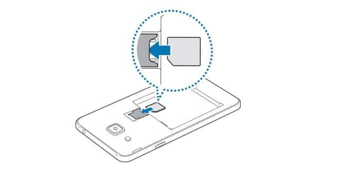 Samsung j2-sim-kart-takma