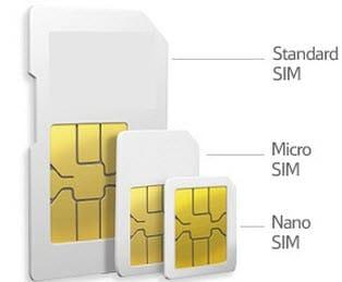 Sim Kart boyutları ve çeşitleri | Mini | Mikro | Nano