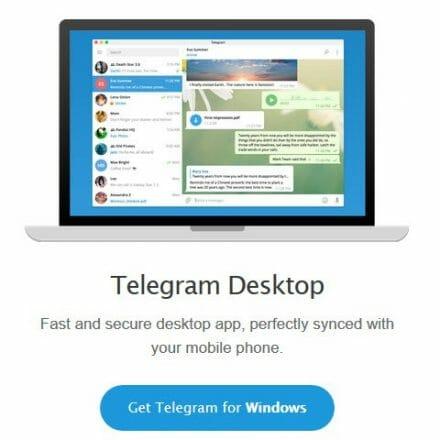 telegram pc giriş