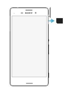 Sony xperia m4 aqua sim kart