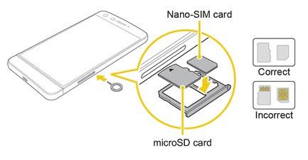 Lg G5 sim kart takma