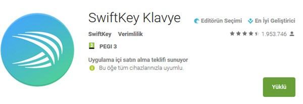 SwiftKey-Klavye-android