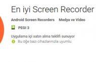 En iyi Screen Recorder No-Root