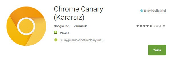 google-chrome-canary-nedir