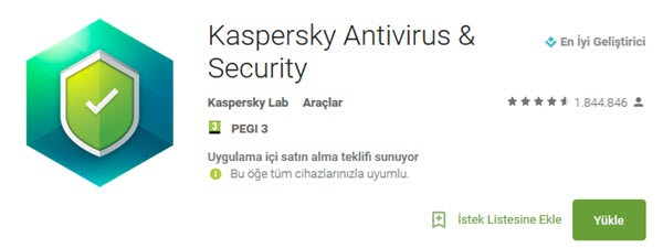 android virüs temizleme