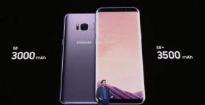 samsung galaxy s8 bataryası