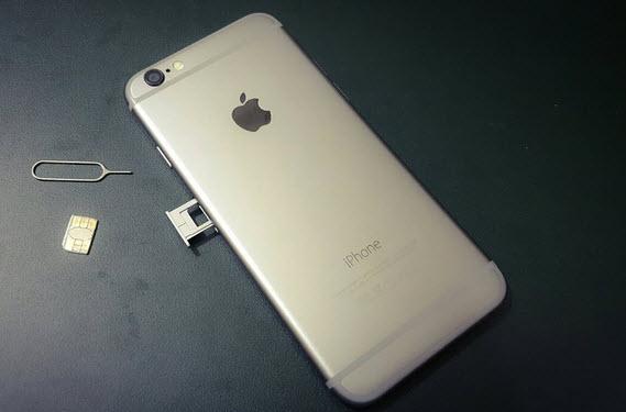 İphone 7 sim kart takma