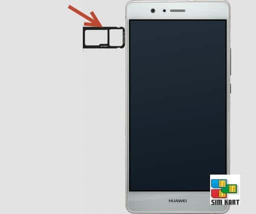 Huawei P9 Lite sim kart takma