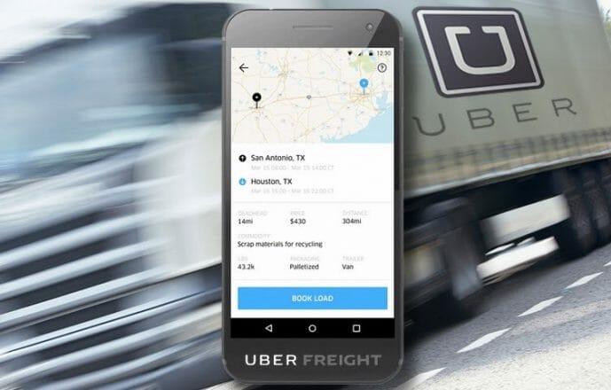 Uber Freight nakliye uygulaması