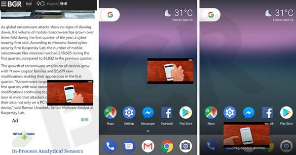 Android pip modu nedir