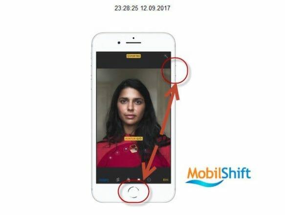 iphone 8 ekran resmi çekme