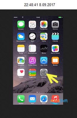 iPhone'u sıfırlama
