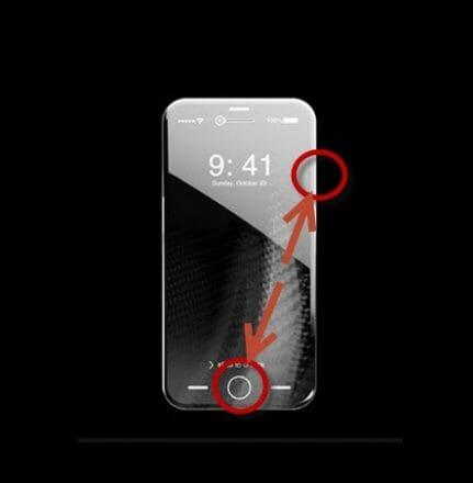 İphone X Ekran Resmi Çekme