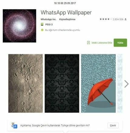 Whatsapp Orjinal Arka Plan | HD Kalitesinde | 2017