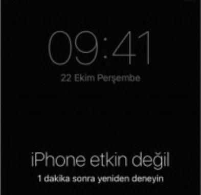 iPhone Etkin Değil iTunes'a Bağlanın | Hatası ve Çözümü