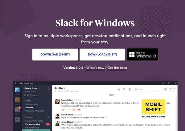 slack download