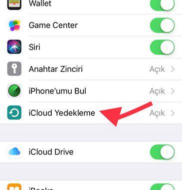 iCloud ile İphone Yedekleme | Rehber ve Tüm Cihaz
