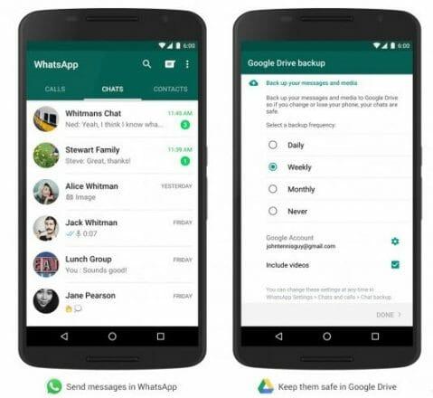 WhatsApp Silinen Mesajları Geri Getirmek