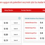 Vodafone 500 dk Konuşma Paketi