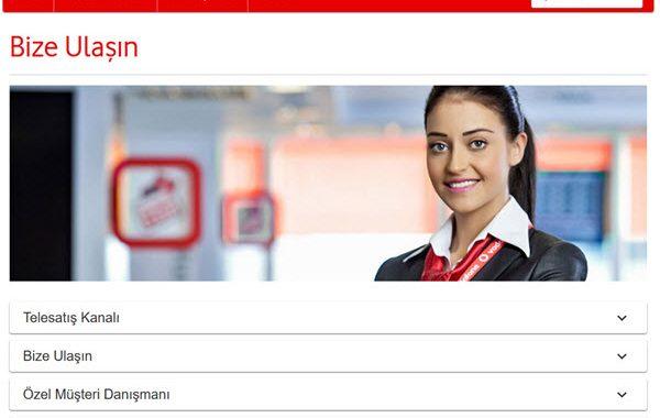 Vodafone Müşteri Hizmetleri Tel   Vodafone İletişim
