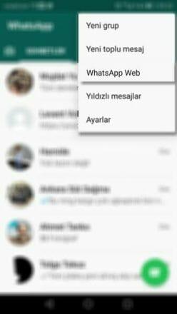 Whatsapp web çıkışı