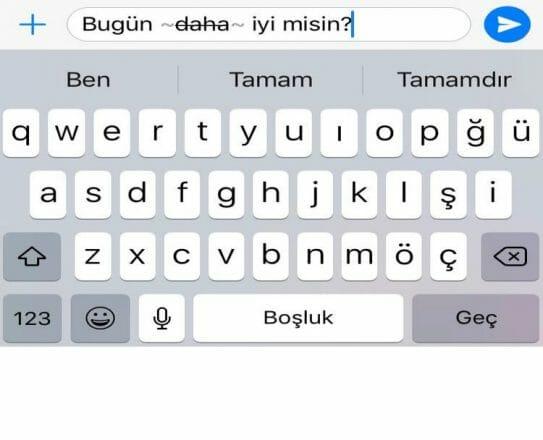 Whatsapp yazi tipi degistirme nasil yapilir?